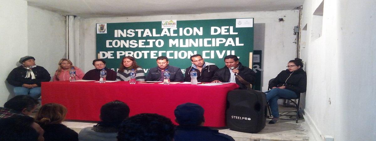 Instalación del Consejo Municipal de Protección Civil