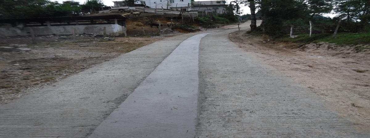 Conclusión de la Obra de Rehabilitación de Camino Loc Zomelahuacan Secc Pueblo Nuevo