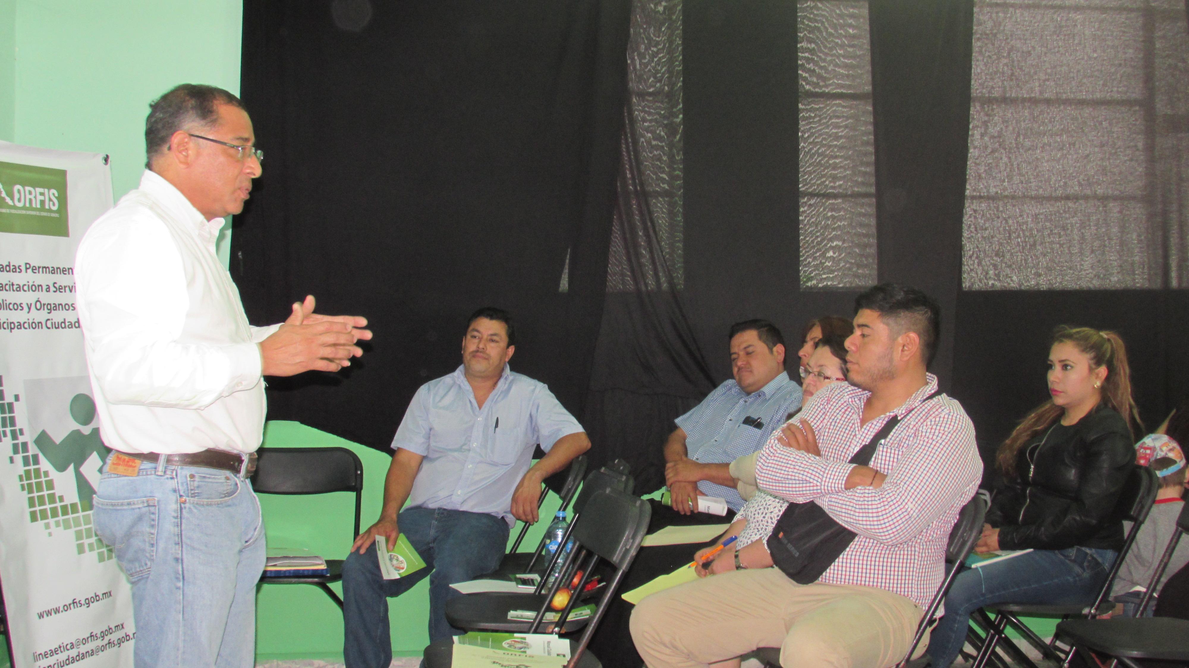 Capacitacion a Servidores Publicos y Organos de Participacion Ciudadana