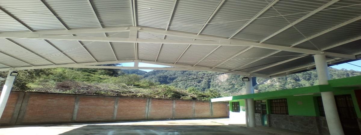 Construcción de Domo en la Escuela Primaria de la Loc. de Rinconada 1ra Seccion