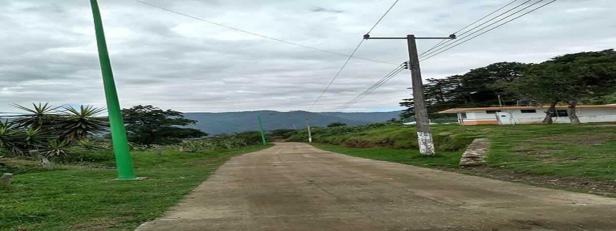 Rehabilitación del Alumbrado Publico en la Loc. Zomelahuacan Secc. Pueblo Nuevo