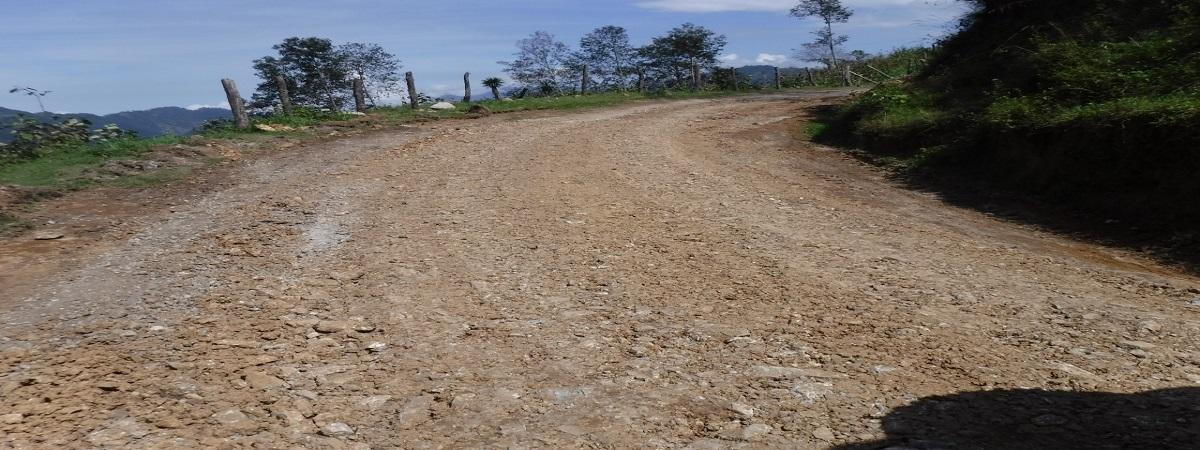 Rehabilitacion del Camino Entronque Romerillos-Zomelahuacan